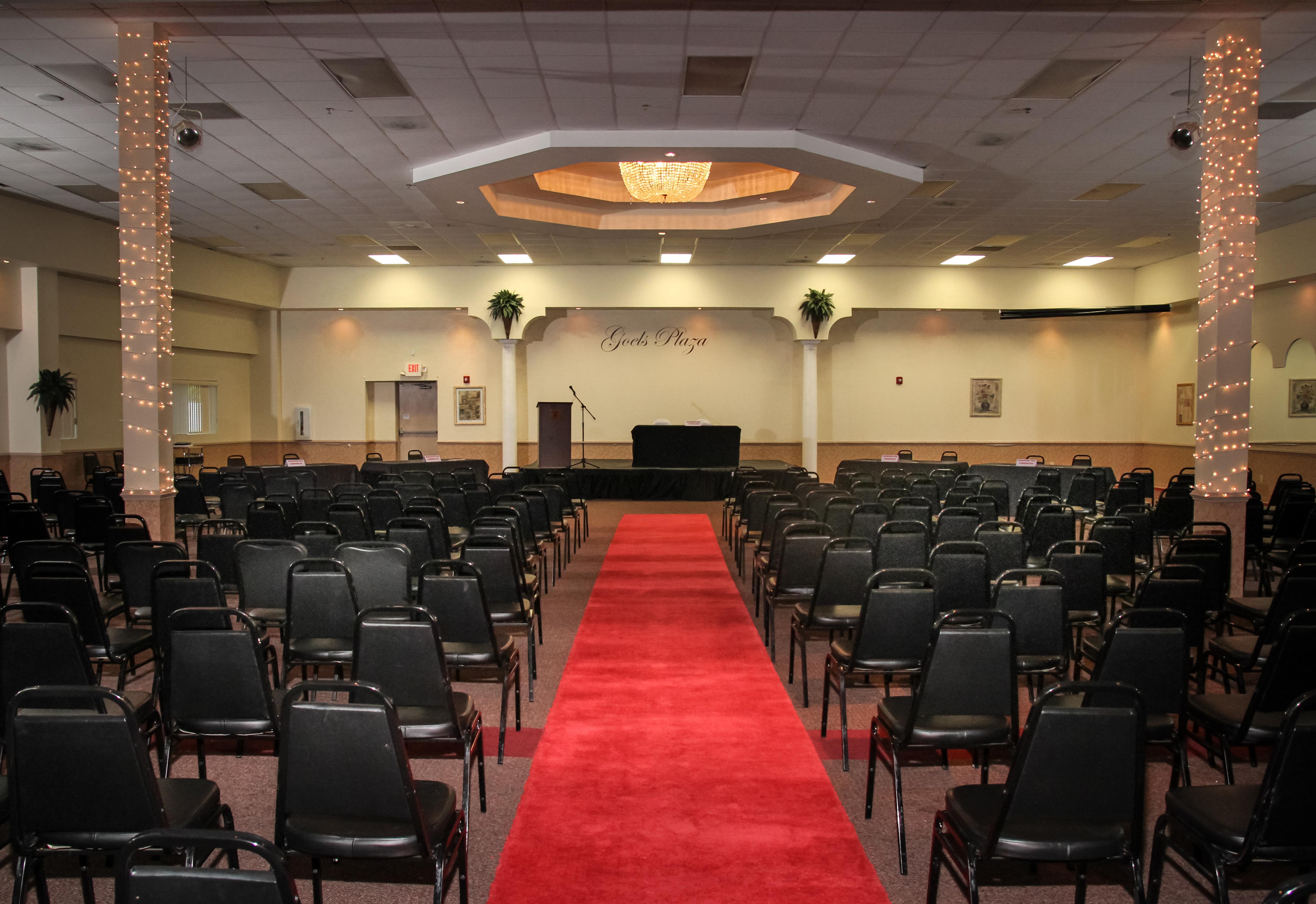 Auditorium Setup in Grand 2